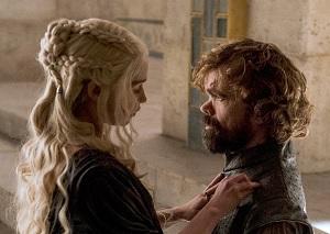 Daenerys en Tyrion